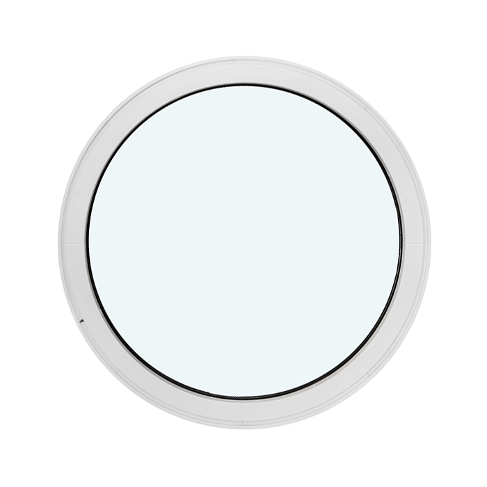 Luxvinduer ApS - Vinduer - Cirkelformet fastkarm (Uden åbning)
